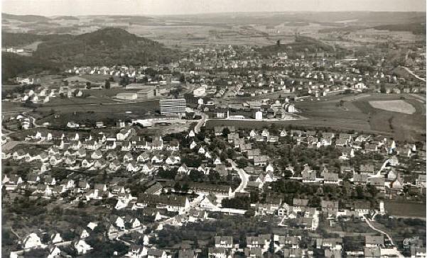 Luftbildaufnahme von Pegnitz